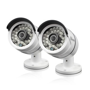 SWPRO-T858PK2 PRO-T858™ 3 Megapixel HD Bullet Camera for Swann Super HD 4750™ Series DVRs Twin Pack Bundle -