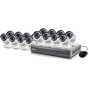 SODVK-164516 DVR16-4550 16 Channel 1080p Digital Video Recorder with 16 x PRO-T853 Cameras -