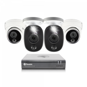SWDVK-445802D2FBV 4 Camera 4 Channel 1080p Full HD DVR Security System -
