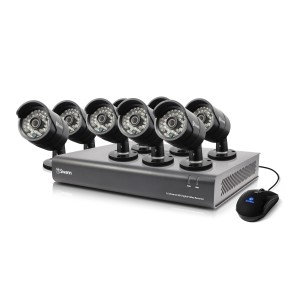 SWDVK-164408 DVR16-4400 - 16 Channel 720p Digital Video Recorder & 8 x PRO-A850 Cameras -