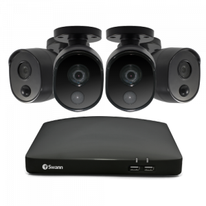SWDVK-446854 4 Camera 4 Channel 1080p Full HD DVR Security System -