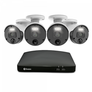 SWNVK-877804 Master-Series 4K HD 4 Camera 8 Channel NVR Security System -
