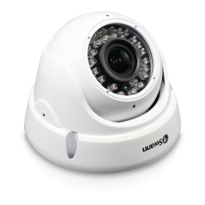 Swann Outdoor Security Camera: 1080p Full HD Dome with 4 x Zoom Lens, Auto Focus & IR Night Vision - PRO-1080ZLD