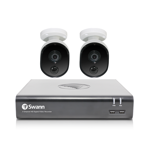 SWDVK-445802V 2 Camera 4 Channel 1080p Full HD DVR Security System   -