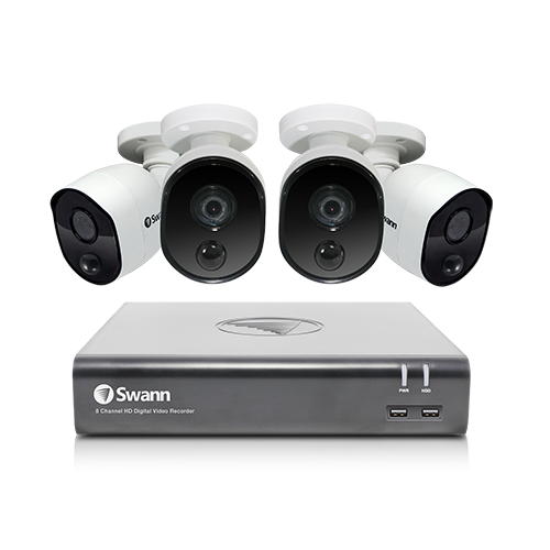 SWDVK-845804V 8 Channel 1080p Full HD DVR Security System -