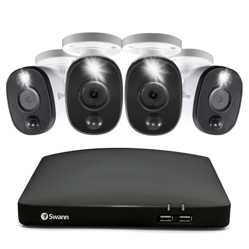 SWDVK-846804WL 4 Camera 8 Channel 1080p Full HD DVR Security System -