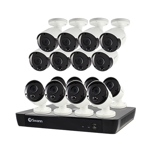 SONVK-1685816 16 Camera 16 Channel 4K Ultra HD NVR Security System (Plain Box Packaging) -