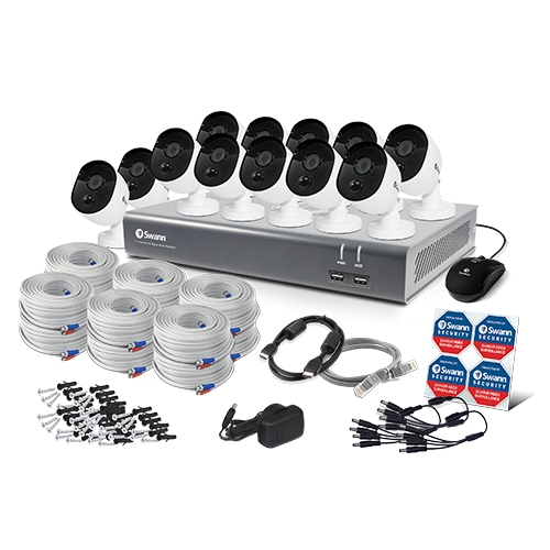 SWDVK-1645812TV 16 Channel 1080p Full HD DVR Security System -