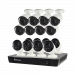 16 Camera 16 Channel 4K Ultra HD NVR Security System (Plain Box Packaging)