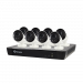 8 Camera 16 Channel 4K Ultra HD NVR Security System (Plain Box Packaging)
