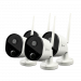 Wi-Fi Outdoor Security Camera 4 Pack