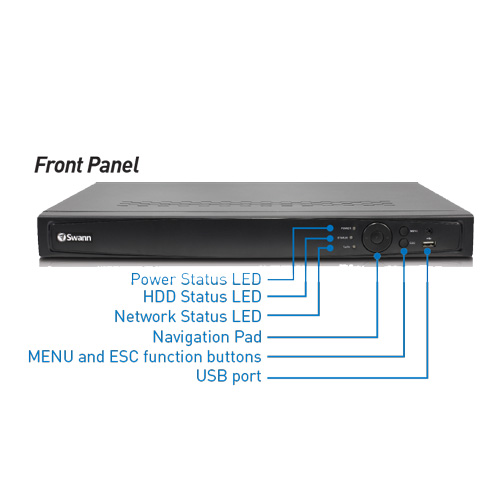 16 Channel Hd Nvr Security System With 8 X 3mp Hd Cameras