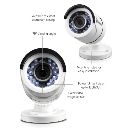 PRO-T890 Swann 5MP Super HD Bullet Outdoor Security Camera