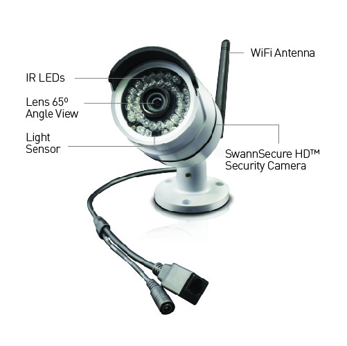nvw 470 wifi 720p hd security cameras 2 security cameras details