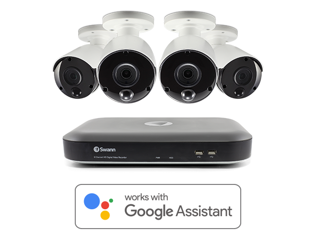 Hands-free Smart Home Security Cameras & Systems | Swann USA
